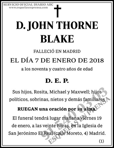 John Thorne Blake